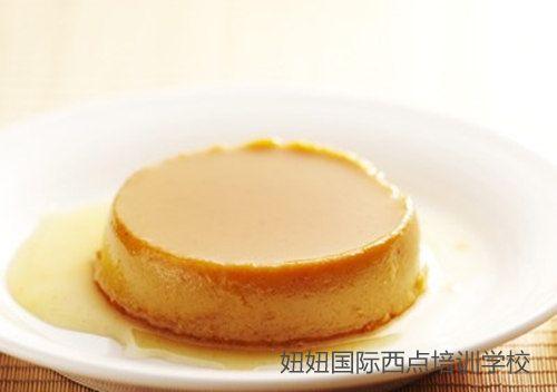 深圳龙华面包培训学校老师教南瓜布丁
