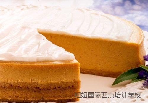 深圳宝安面包培训学校免费教南瓜奶油蛋糕