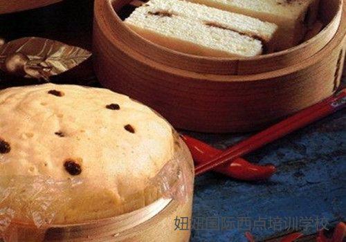 深圳龙华面包培训学校教做蒸蛋糕