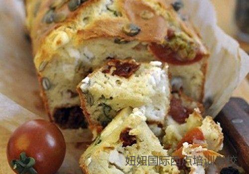 深圳龙华糕点培训学校教做蕃茄干面包