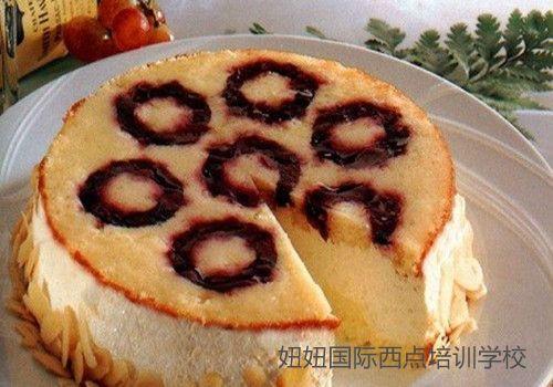 深圳龙华饮品培训学校免费教蓝莓奶酪蛋糕
