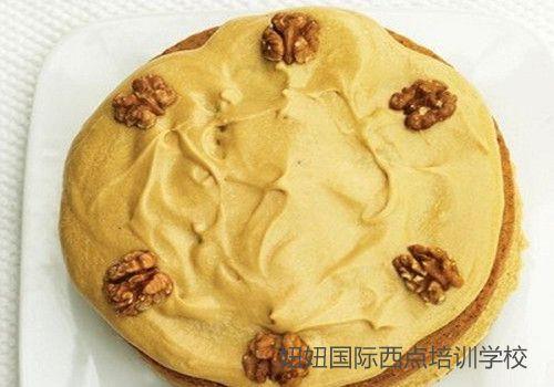 深圳宝安咖啡培训学校做咖啡核桃蛋糕