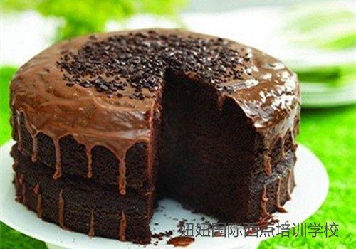 深圳龙华学做蛋糕的学校制作巧克力蛋糕