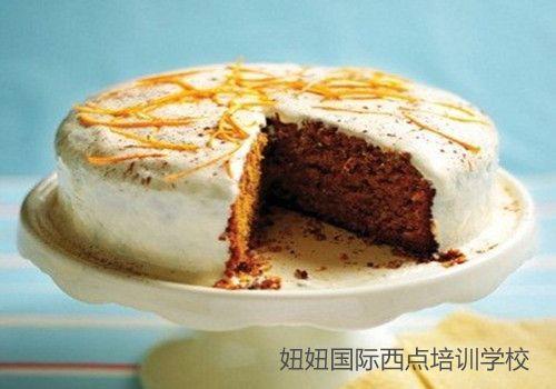 维生素含量很高的胡萝卜蛋糕