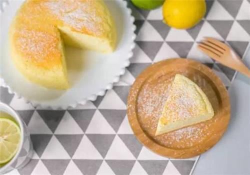 深圳沙井烘焙培训学校教做柠檬酸奶cake