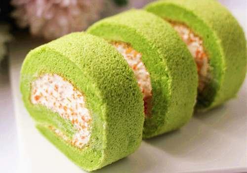 宝安后亭哪有糕点培训班做菠菜南瓜蛋糕卷的做法