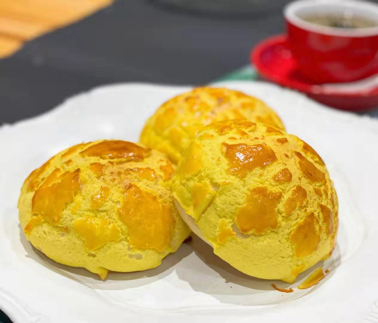 深圳吉祥面包培训学做咸味焦糖脆饼