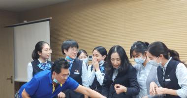 应邀赴中国建设银行DIY曲奇手工造物节活动