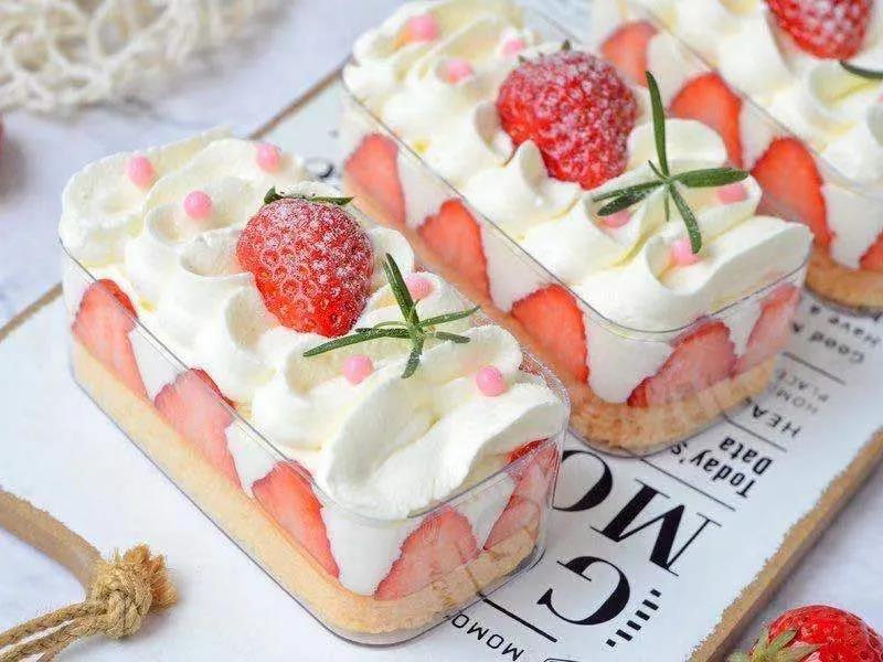 深圳蛋糕培训学校教你做草莓盒子蛋糕